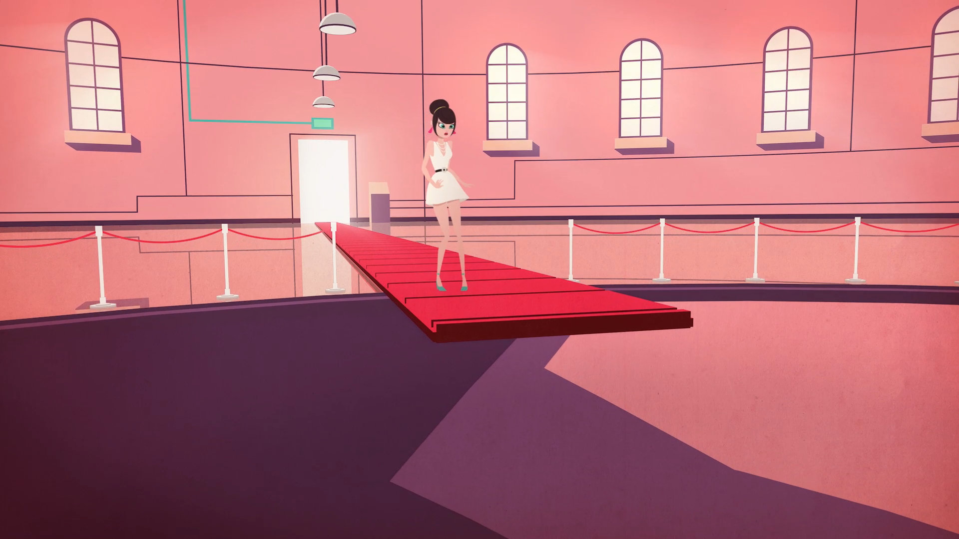 animacion por javier bianchi para MTV plain jane