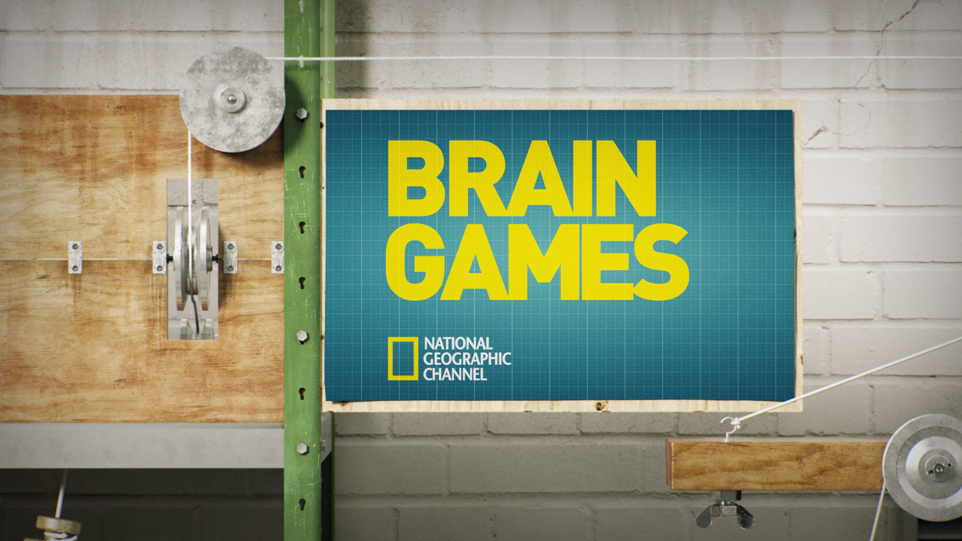 art direcciont and animation by javier bianchi for NatGeo brain games